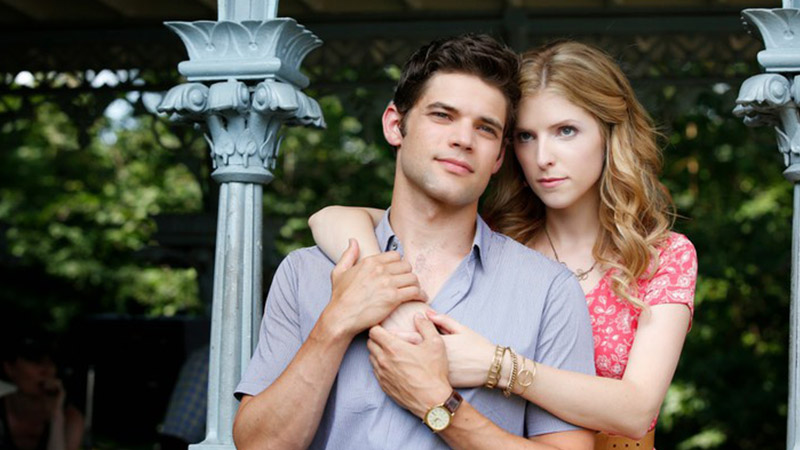 Jeremy Jordan and Anna Kendrick in <i>The Last Five Years.</i>