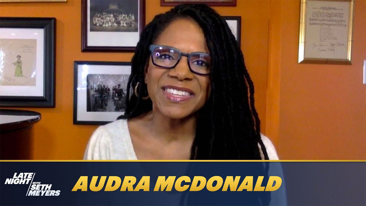 Audra McDonald on Seth Meyers