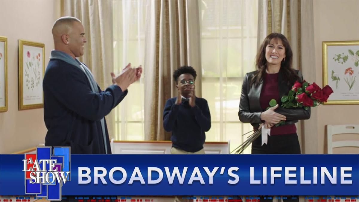 Laura Benanti and Christopher Jackson on Stephen Colbert