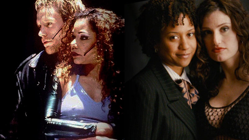 Daphne Rubin Vega and Tracie Thoms