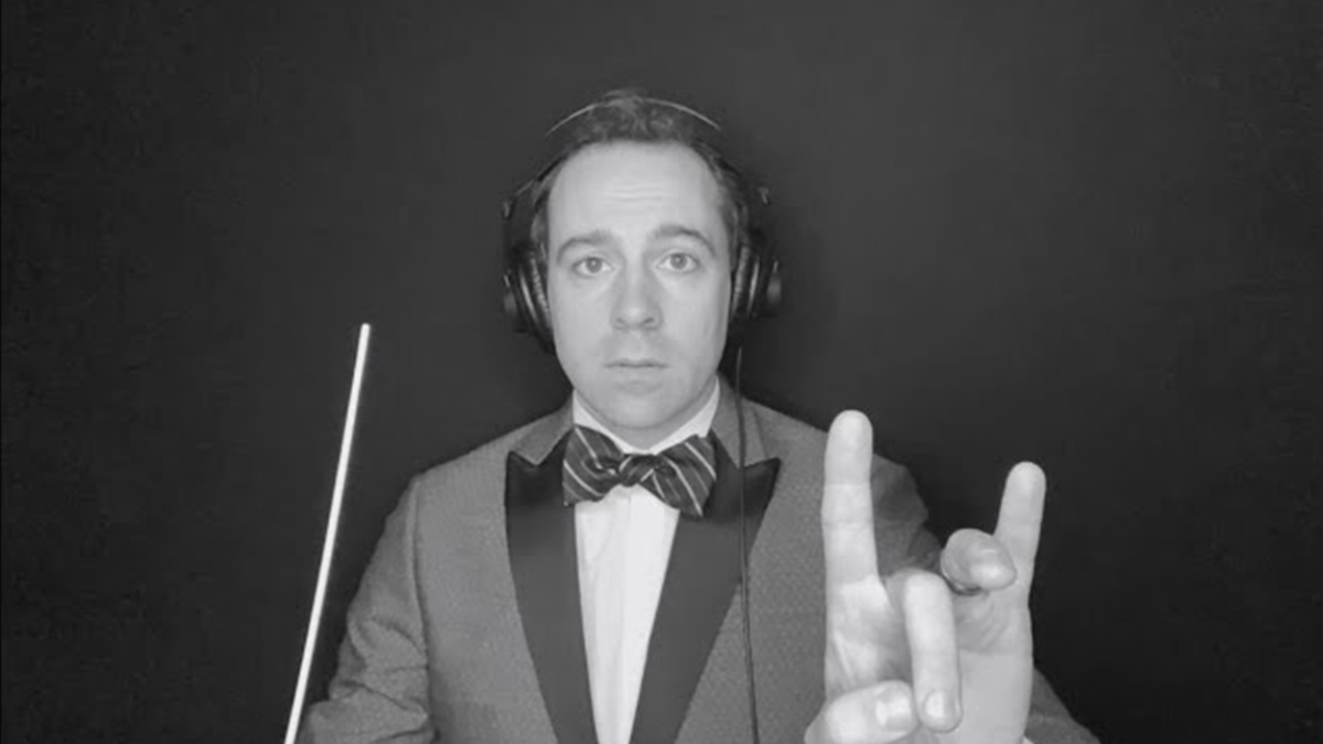 Rob McClure Conductor Cam