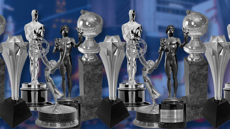 Golden Globes, SAG, Oscar, Emmy Awards