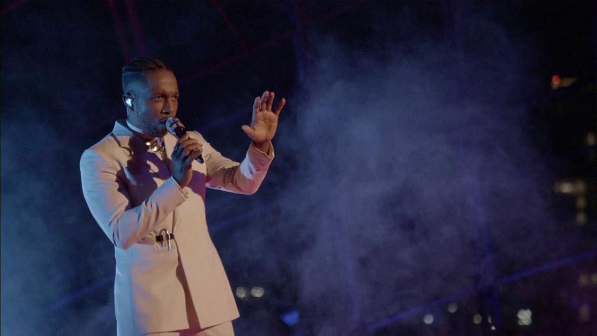 Leslie Odom Jr Performs Speak Now at the 2021 Oscars