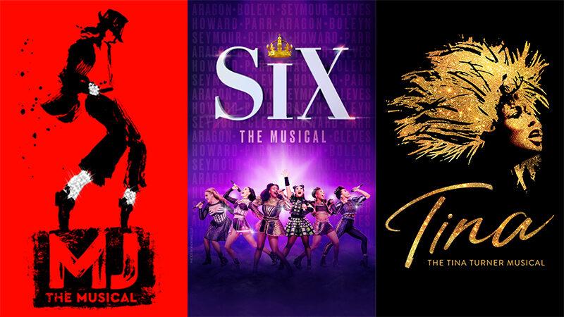MJ, Six, Tina - The Tina Turner Musical