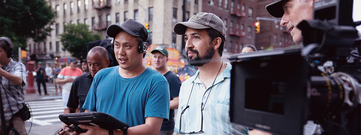 Jon M. Chu and Lin-Manuel Miranda Behind the Scenes of In the Heights