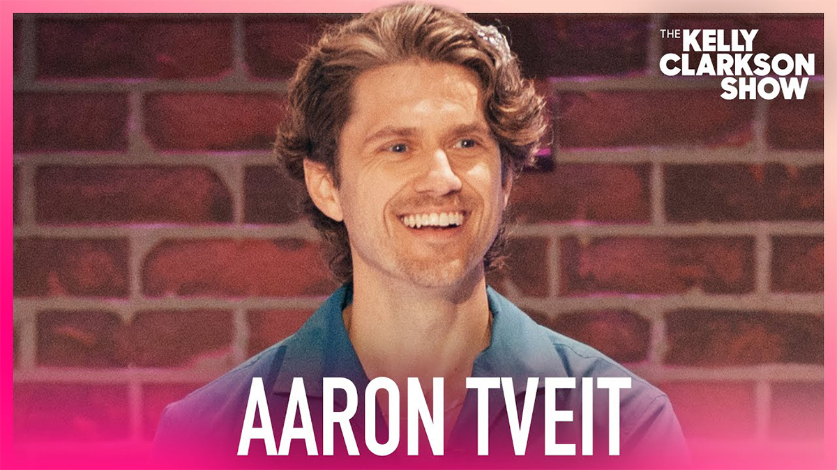 Aaron Tveit on The Kelly Clarkson Show