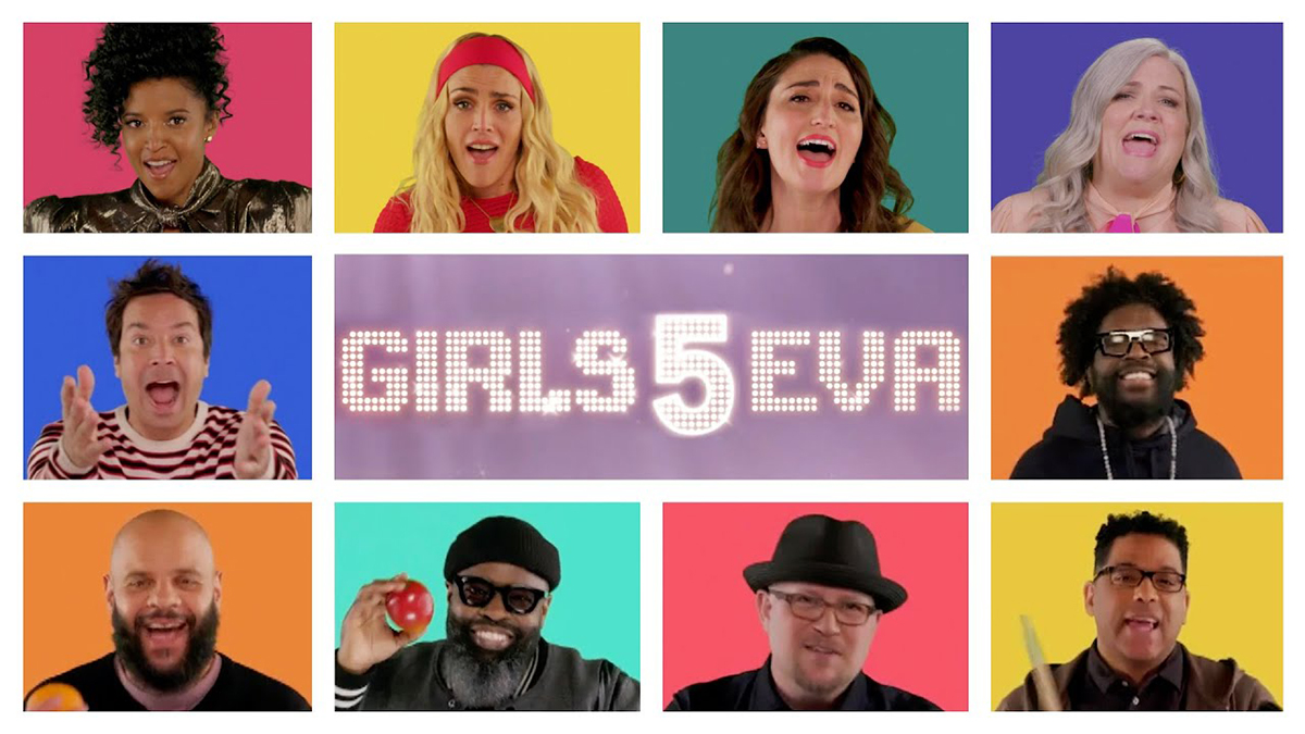 Girls5Eva on the Tonight Show
