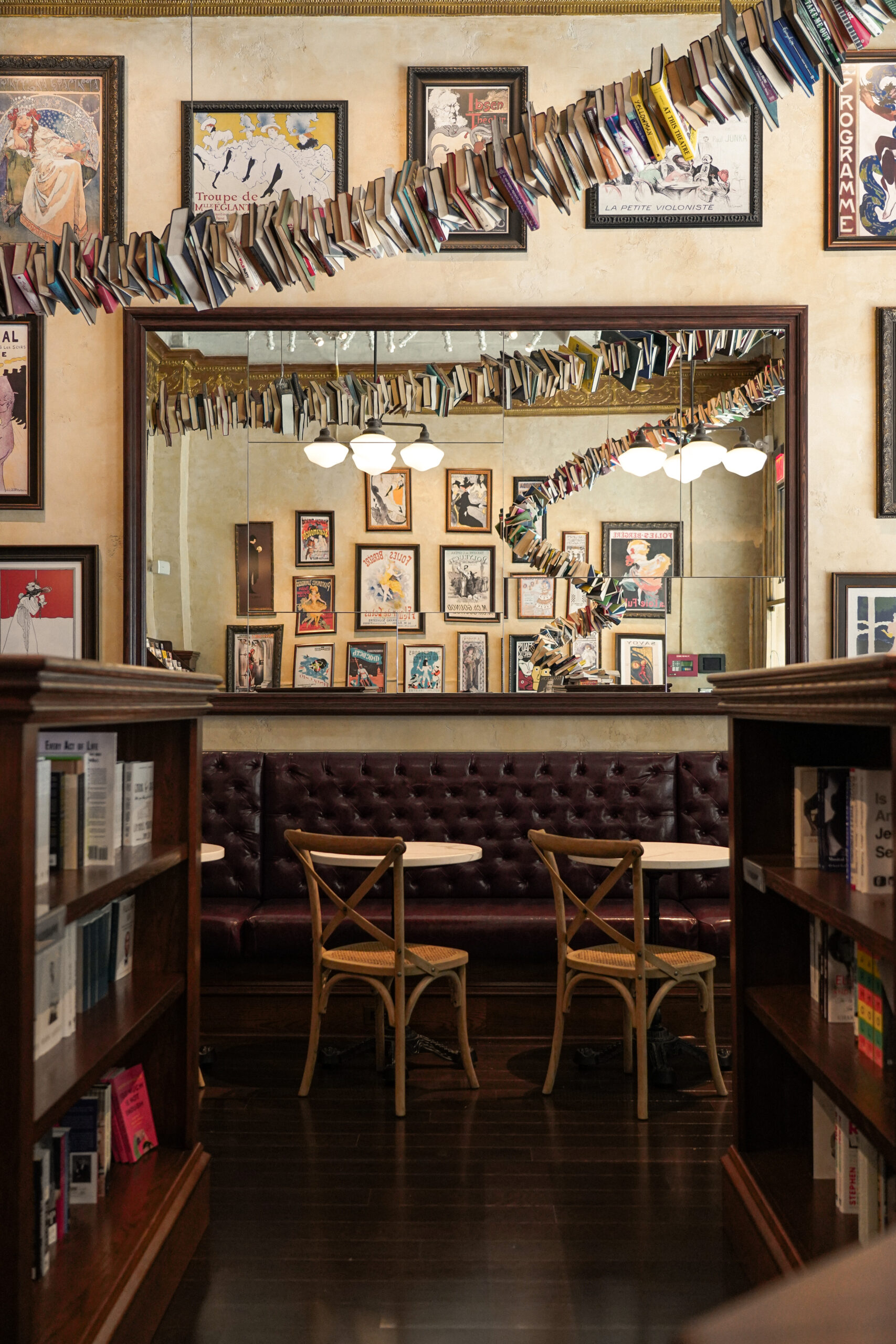The Drama Book Shop. Photo by Drew Dockser.
