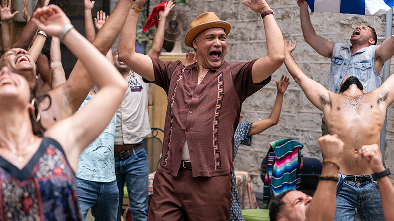 Jimmy Smits as Kevin Rosario in Warner Bros. Pictures' <i>In the Heights</i>, a Warner Bros. Pictures release. Photo by Macall Polay.