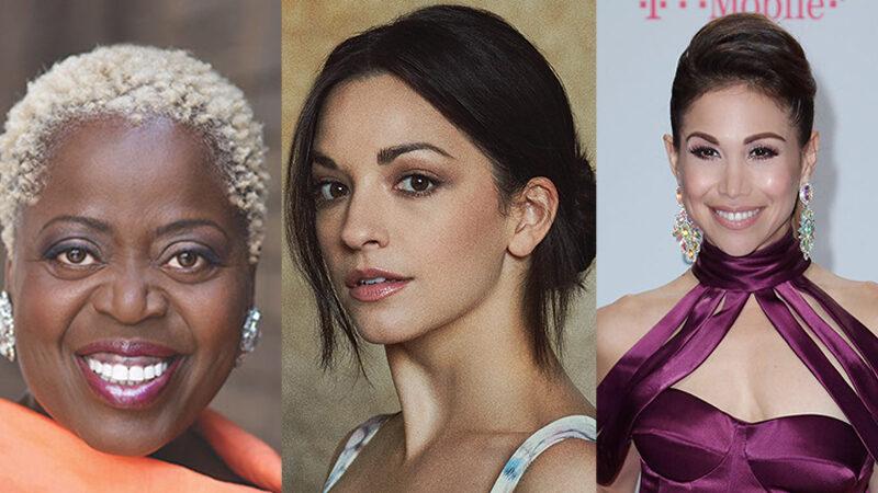 Chicago Cast including Lillias White, Ana Villafane, and Bianca Marroquin
