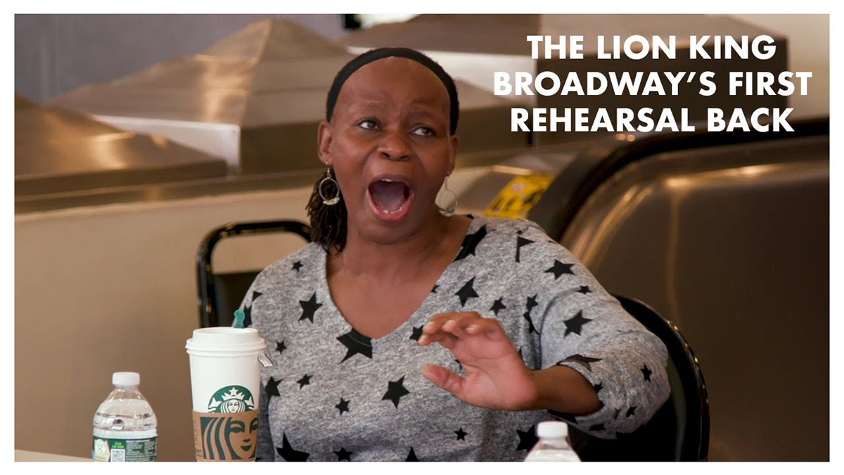 The Lion King Rehearsal