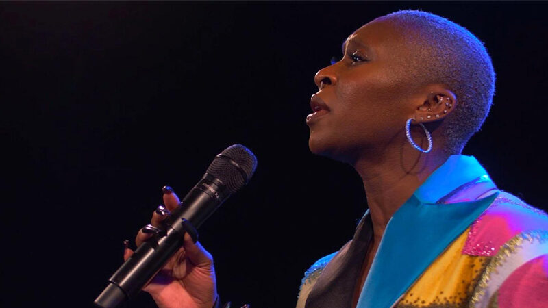 Cynthia Erivo in Wicked in Concert