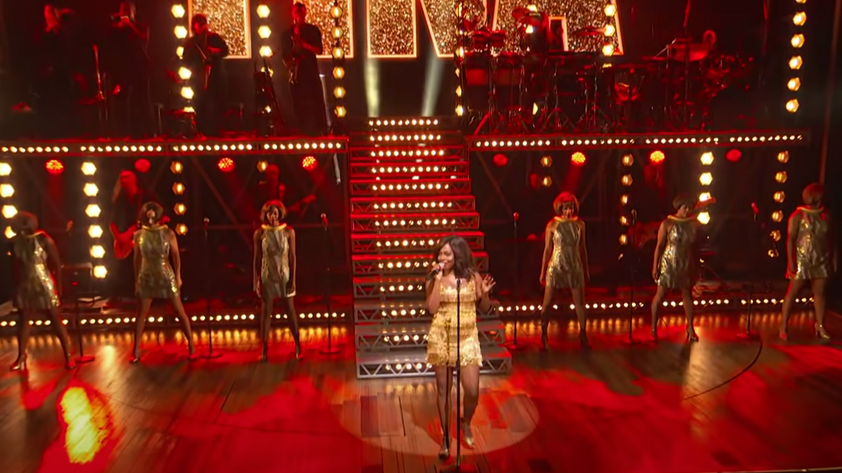 Tina The Tina Turner Musical with Adrienne Warren, Performance on the Tony Awards