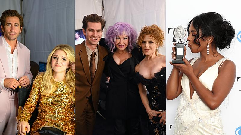 Jake Gyllenhaal, Annaleigh Ashford, Andrew Garfield, Cyndi Lauper, Bernadette Peters, Adrienne Warren
