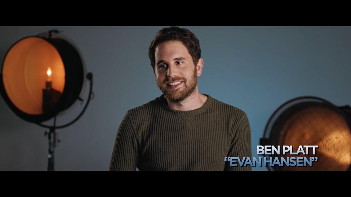 Ben Platt on Evan Hansen