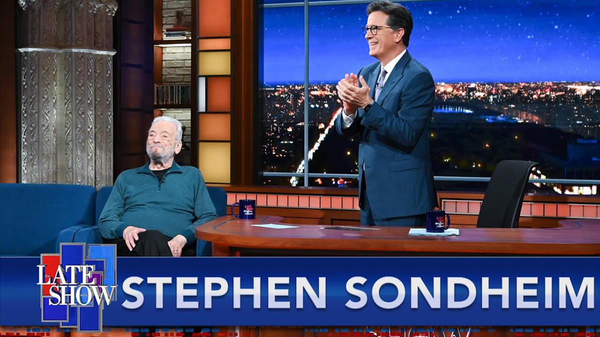 Sondheim on Colbert