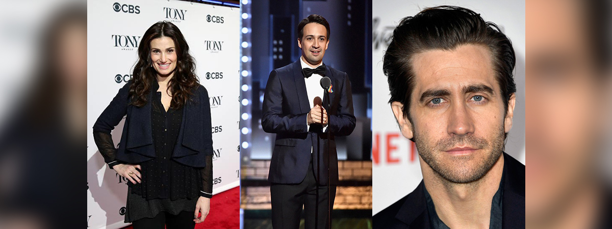 Idina Menzel, Lin-Manuel Miranda, Jake Gyllenhaal