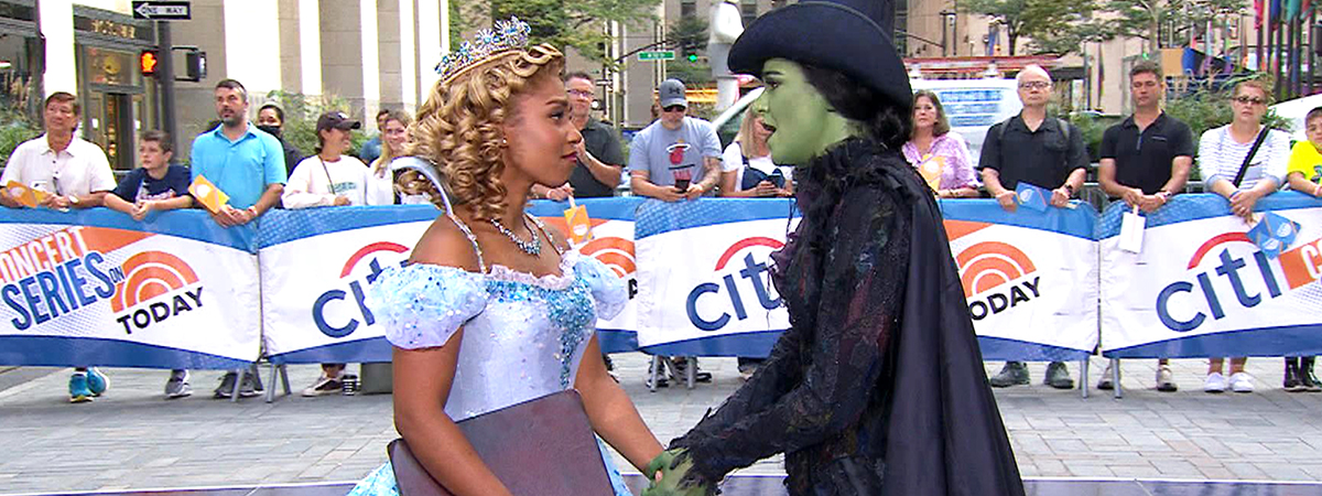 The Cast of Wicked on TODAY