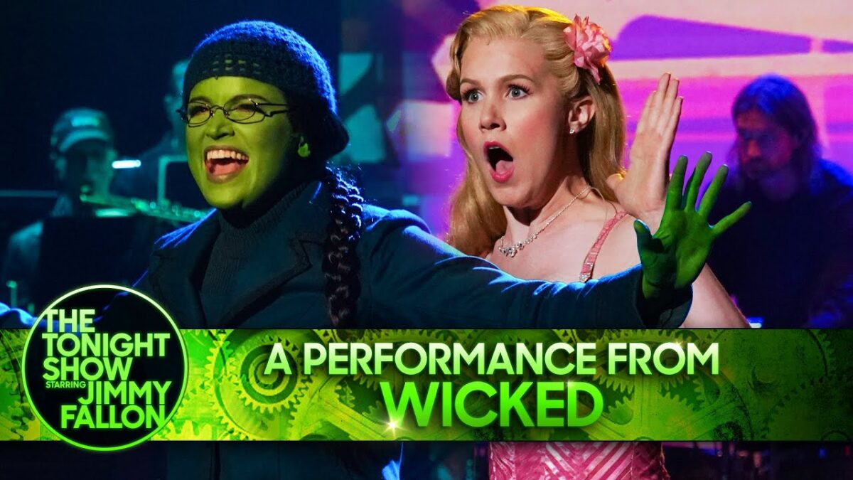 Wicked on The Tonight Show