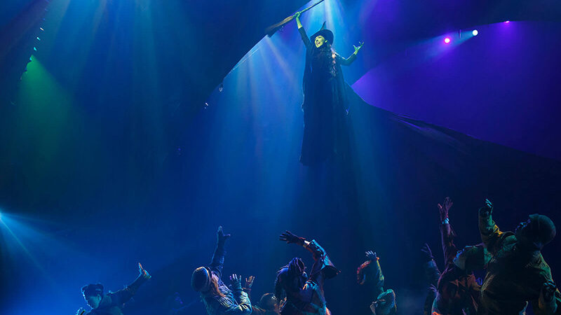 """""""Defying Gravity"""" in Wicked"""
