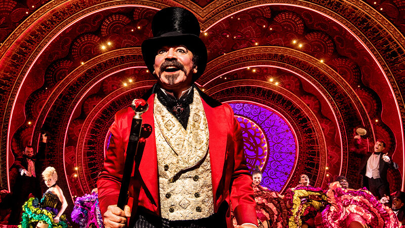 Moulin Rouge! The Musical, Danny Burstein in photo