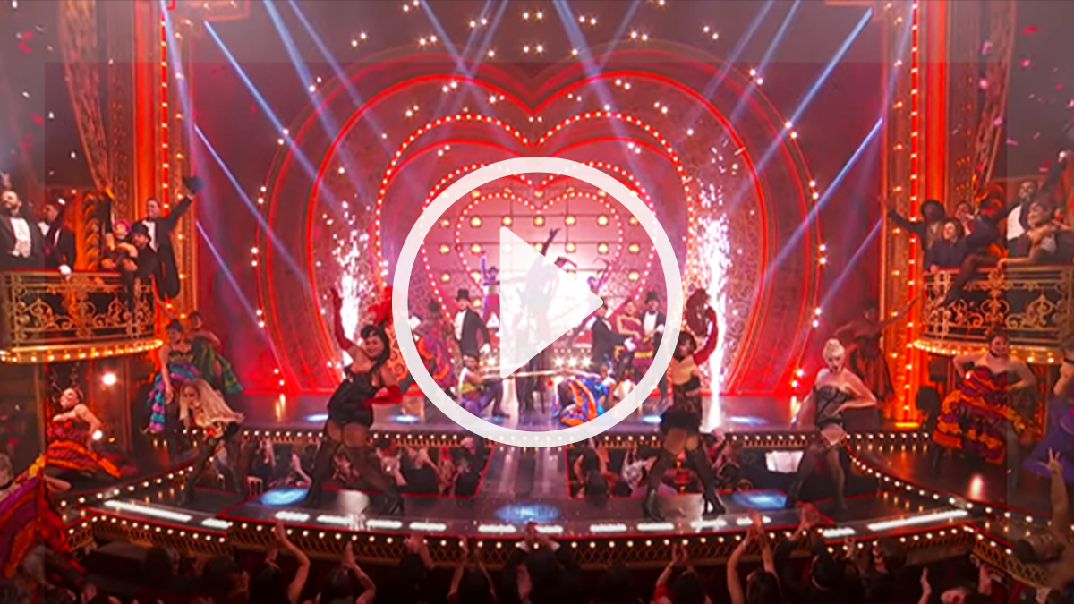 Moulin Rouge! The Musical Performs on the Tony Awards