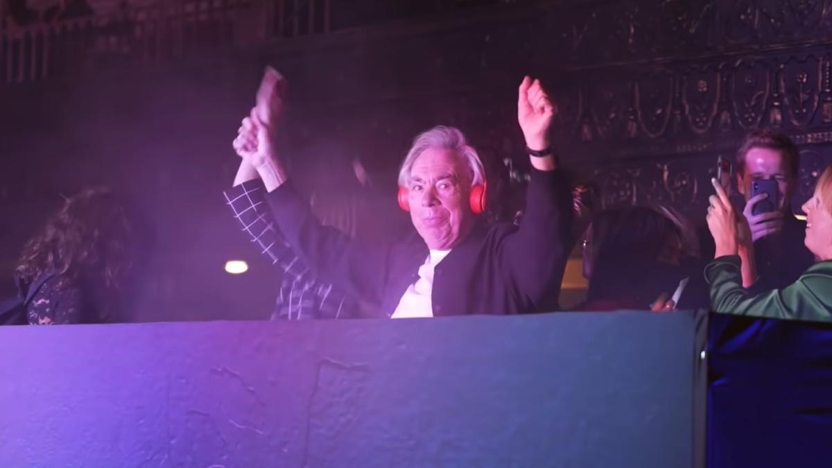 DJ Andrew Lloyd Webber
