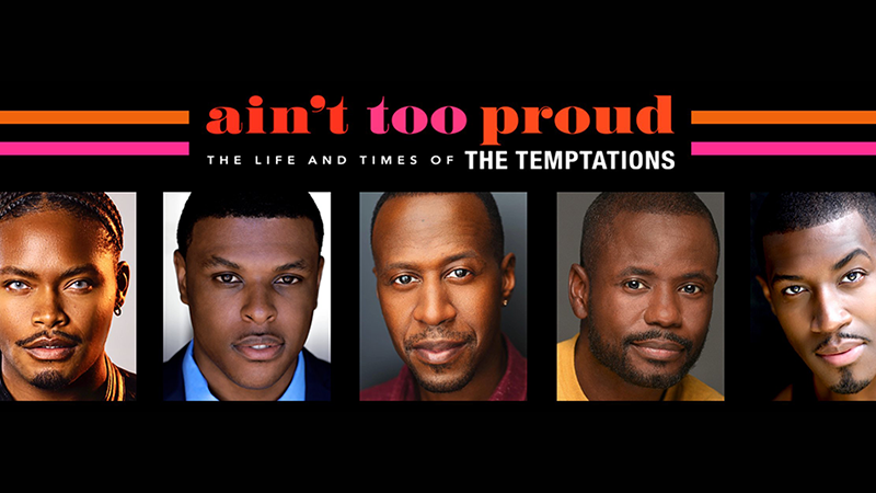 Ain't Too Proud Touring Cast